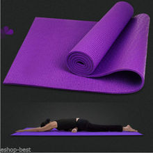 EVA Non-skid Exercise Fitness Lose Weight Yoga Mat, Skidproof smell-less EVA yoga fitness mat made in China