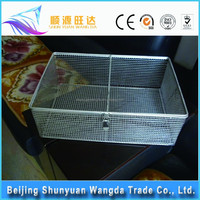 hot sale stainless steel wire mesh kitchen cooking basket