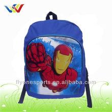 2013 Cheap Superman Trendy Kids School Book Bag