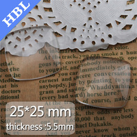 25mm crystal tile beads for home decor glass patch stickers accessories glass time gem patch crystal glass gem