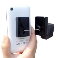 high quality mobile phone no charge security recoil display pull box