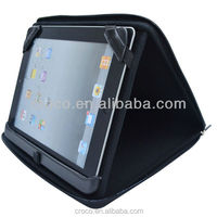 2014 Croco Best selling EVA leather tablet case with holder for ipad