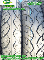 LOTOUR brand tubelss motorcycle tyre 3.50-10 4.00-8