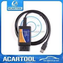 2015 OBD OBD2 Diagnostic tools ELM327 V2.0 usb interface obd obdii obd2 Car scanner ELM327 USB highest quality