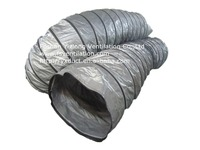 HVAC heat resistant grey air-conditioner insulated duct