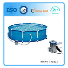 Metal frame Swimming Pool Above ground s