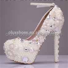 OW11Fashion Hot-Glitter Beautiful Vogue Heels Wedding Bridal Shoes