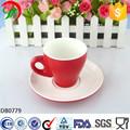 Impressos personalizados canecas de, Porcelana xícara de café e pires