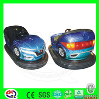 Battery inflat kids indoor stainless steel bumper car manufacturers