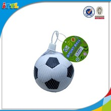 4 inches Black and white soft mini football soccer ball