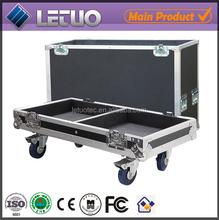 Aluminum flight case road case transport crate case speakers subwoofer lightweight aluminium metal flight case