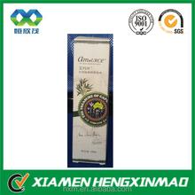 Brand name toner paper box 100ml skin freshener packaging paper box skin freshener paper box