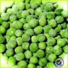 Good quality green peas Large stock new crop bulk bag frozen green pea 7-10 mm