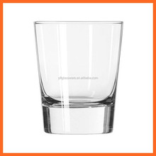 restaurent hotel supplier High Quality machine made clear Fancy Customized round Drinking Glass