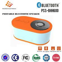 Alto-falante portátil modelo pss-bhh600, portátil bluetooth com micro, handsfree para chamar, built- na bateria recarregável