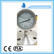 stainless steel oil pressure gauge