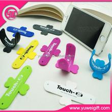 best selling sticky rubber plastic smart phone holder