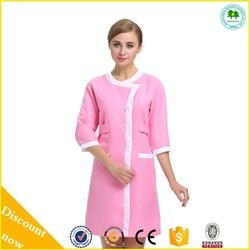 2015 New Design Pink Hair and Beauty salon , Salon Uniforms , Spa Uniforms