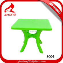 Durable 2014 Exclusive Design/Outdoor Portable Plastic Square Table