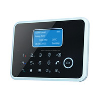 New listing PSTN plus wireless GSM alarm system from China,support connecting IP camera with alarm I/O