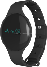 Hot new products for 2015 oem odm touch screen activity tracke bluetooth smart watch, wrist band with silicone bracelet
