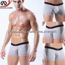 algodón lencería para hombres tejer confortables boxeadores