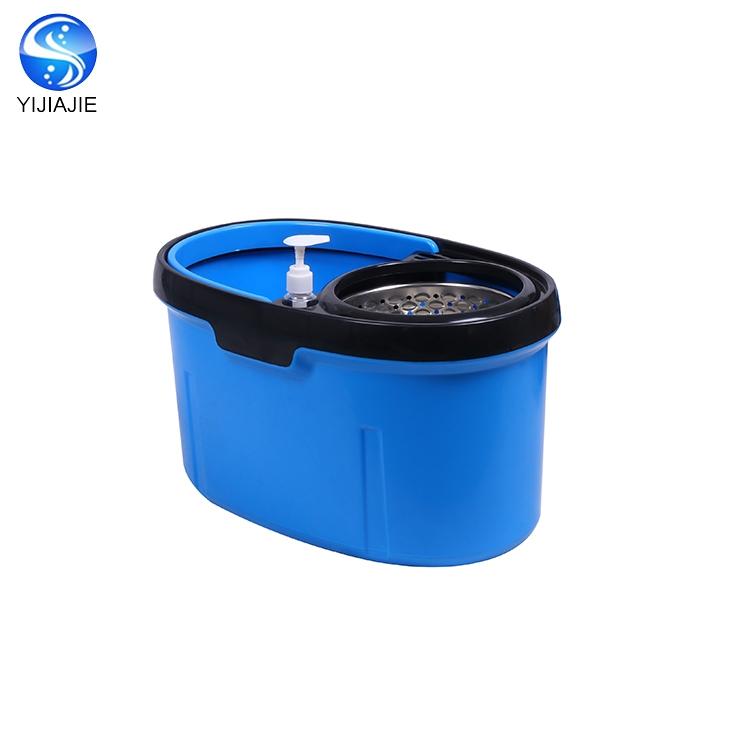E alça retrátil balde cosway rotação de esfregão para Limpar O Chão