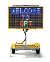 Solar Powered Led Speed Display Sign Australian C Size 5 Color 2590*1790mm