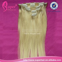 Natural hair extension clips wholesale uk,real hair clip on black long