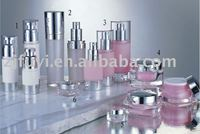 acrylic Lotion bottles and cosmetic jar applied in Cosmetic Packaging
