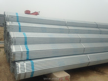 threaded galvanized pipe 3 inch with a stock for promotion