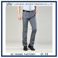 Solid Color Casual mens hip-hop trousers Pants European Style Slim Fit men's trousers