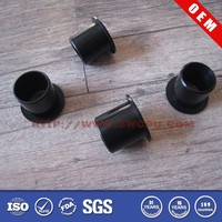 Black rubber stool feet for chair