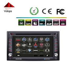 Universal 2 din dvd para el coche piayer con GPS,bluetooth