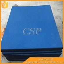 Industry tile gym rubber for playground/Playground rubber flooring mat