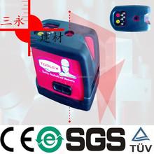 SY503 2 Dots 1 Cross Line Laser Land Leveling multi line laser level