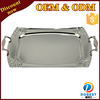 stainless steel silver plated mess waiter serving tray