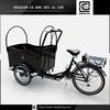 Aluminum recumbent BRI-C01 electric motorized tricycle cargo bike