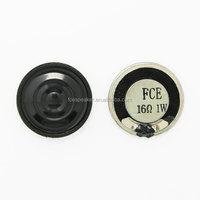28mm 16ohm mini round mylar speaker 2W