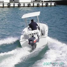 CE Certificated 2015 New Fiberglass Fishing Boat, Military Patrol Boat for Sale