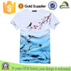 Customised Fashion Floral Printing 100 Cotton Unisex Casual T-shirt