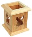 Creative handmade Wooden Pen holder for wholesale