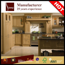 SKB3307 Classic kitchen design and oak solid wood kitchen cabinet door for diner room furnitur