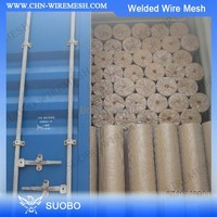 Bird Cage Welded Wire Mesh Roll Anping Hongtong Wire Mesh 8Mm Steel Bar Wire Mesh