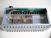 16 in 1 analog NTSC PAL tv system fixed channel modulator