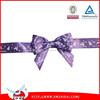 2015 Pre made satin ribbon bow with loop,gift ribbon bow