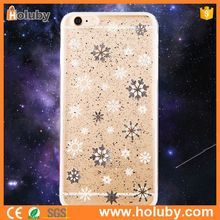 Joyroom Silver Snowflake Phone Case, Joyroom Gold Dust Series Ultra Thin Case for iPhone 6 TPU