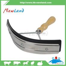 NL1322 hot sales horse sweat scraper with wood handle