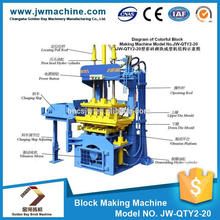 Professional production CE&ISO9001 approved 1725*1160*2320 mm 6.2KW 380V curbstone paving concrete brick machine making