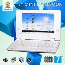 "7"" Inch Latest Green 4.1 JellyBean Mini Android Computer Laptop NoteBook PC NetBook Wifi Best gift for Children"